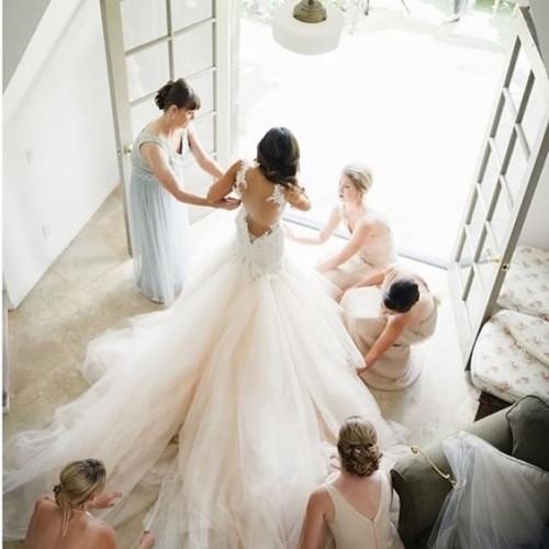 madrinhas noiva vestido