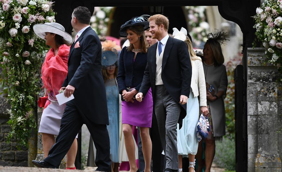 Príncipe Harry e convidados