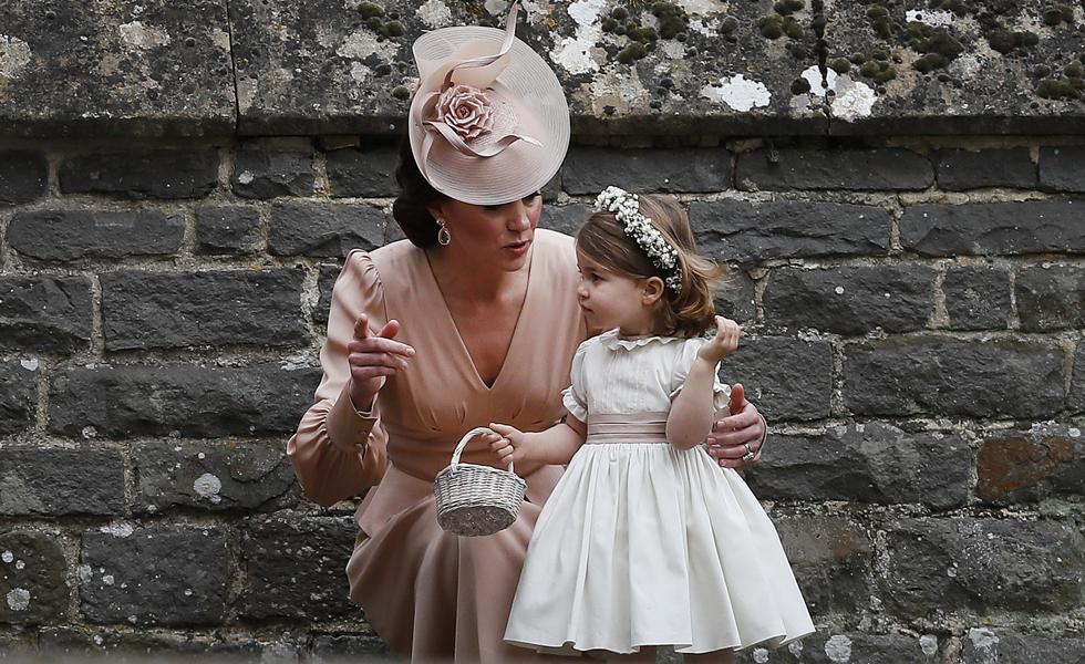 Catherine (Duquesa de Cambridge) e Princesa Charlotte