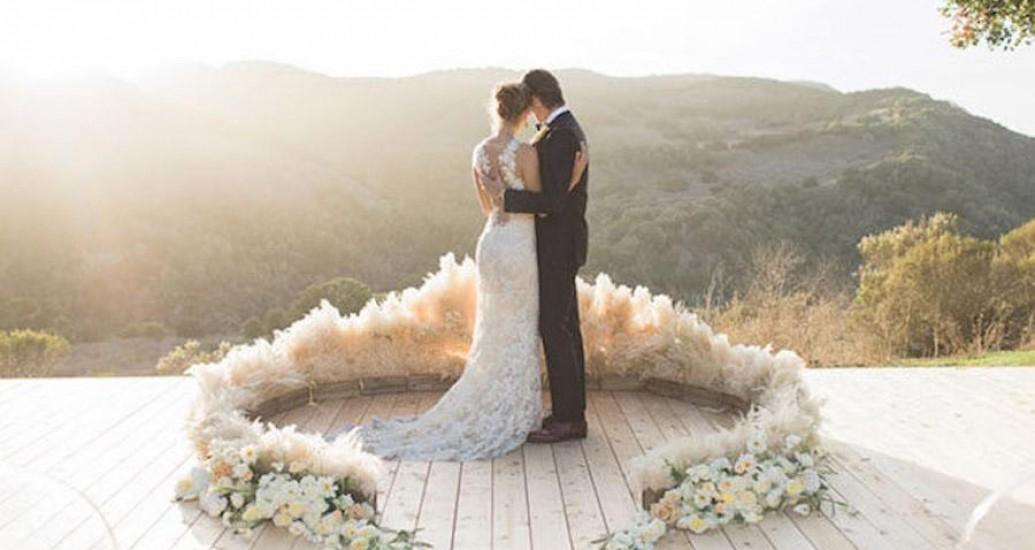 Tendências modernas de decoração de casamento
